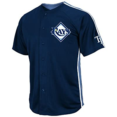 MLB Tampa Bay Rays Crosstown Rivalry Jersey, Navy/Blue/White