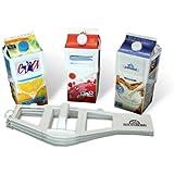 Carton Caddy® Milk Holder, Juice Holder, 1/2 Gallon Carton Holder - 2 Pack