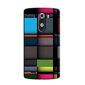 COLORFUL SQUARES BACK COVER FOR LG G3