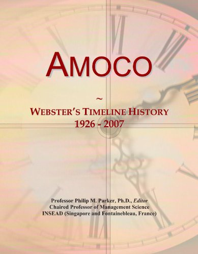 amoco-websters-timeline-history-1926-2007