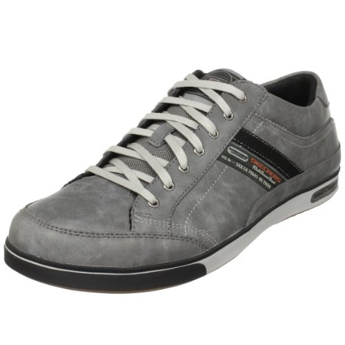 Skechers Men's Lanyard Passport Charcoal Fashion Trainer 50981 11 UK