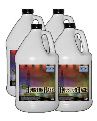 4 Gal - Houston Haze - Designer Select Oil Based Fluid for Haze Generators
