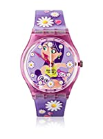Swatch Reloj de cuarzo Woman HAPPY FLOWER GV119 34 mm