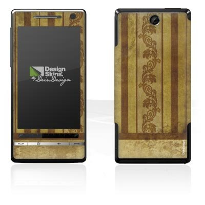 Design Skins für O2 XDA Diamond 2 - Stripes & Tendrils Design Folie