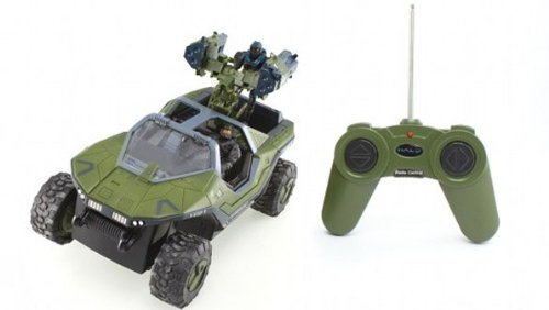Buy Low Price NKOK Halo Radio Control Warthog with Two Figures (B00202F5FQ)