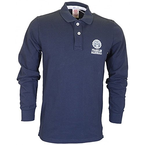 Franklin & Marshall -  Polo  - Uomo blu navy XX-Large