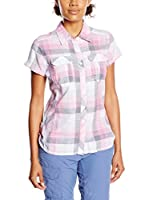 Columbia Blusa Camp Henry (Rosa / Blanco)