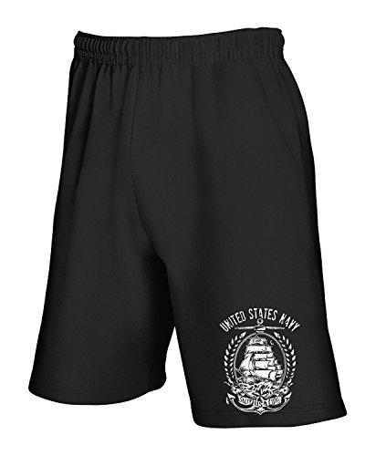 cotton-island-pantalone-tuta-corto-tm0670-us-navy-united-states-navy-taglia-s