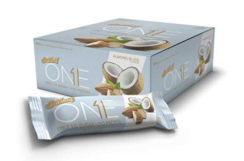 Oh Yeah! One Bar, Almond Bliss, 12 Count, 2.12 Oz. each (Quest Bar Sugar Free compare prices)