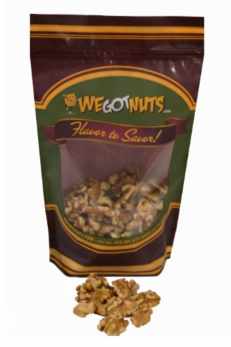 Raw Walnut Halves & Pieces (10 Pound Case) - We Got Nuts
