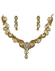 Anuradha Art Multi Colored Kundan Jewellery Set For Women - B014HH9RKK
