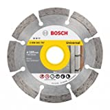 BOSCH - DIAMOND CUTTING DISC - 105 MM X 20 / 16 MM - WITH 1 BORE ADJUSTING WASHER - PACK OF 10 PCS