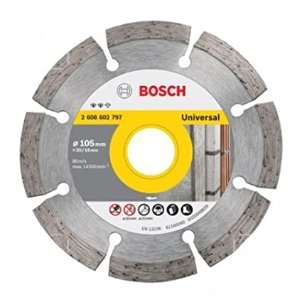 2 608 602 797 Diamond Cutting Disc Set (10 Pc)
