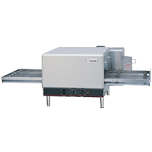Lincoln 1300 Series Countertop Impinger (CTI) Electric Conveyor Oven with Analog Controls and Extended 50