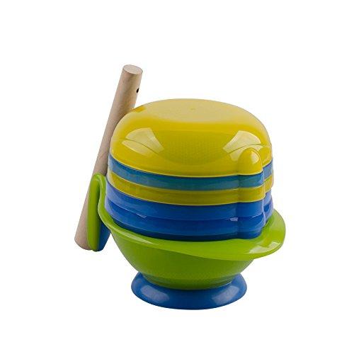 Tofern-8-in-1-BPA-Freier-Baby-Kinder-Entsafter-Obstsaft-Filter-Babynahrung-Obst-Gemse-Mhle-Schleifer-mit-Mikrowellengeeignetem-Schssel-Grne-Schssel