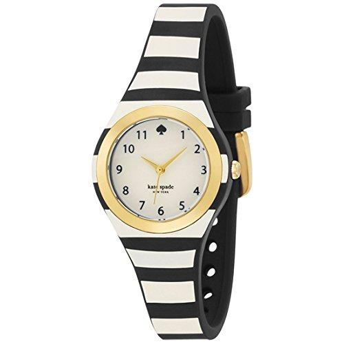 Kate Spade-Bracciale da donna cinturino per orologio in silicone Multicolor gehã € use in acciaio inox al quarzo quadrante bianco & # x178; 1yru0749