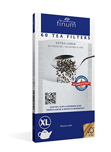 Finum 60 Tea Filters, Extra Large