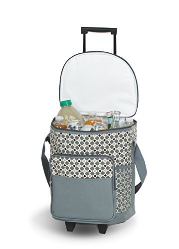 dash-rolling-cooler-mosaic-rolling-cooler-with-insulated-leak-proof-lining-by-picnic-plus