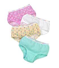 Fruit of the Loom Toddler Girls' 6pk Assorted Brief