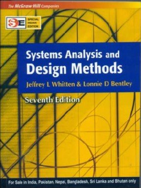 Systems Analysis and Design Methods [Paperback] by Jeffrey L Whitten