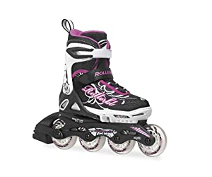 Rollerblade Spitfire XT Adjustable Girls Inline Skates 2014 by Rollerblade