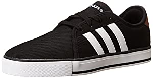 Adidas NEO SK LVS Fashion Sneaker, Black/Running White/St Bark F, 14 M US