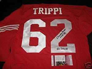 Charley Trippi Autographed Jersey - Georgia Bulldogs Jsa coa - Autographed NFL... by Sports+Memorabilia