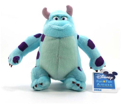 """Sega Official Disney Pixar Characters Plush - 6.5"""" Sulley - 1"""
