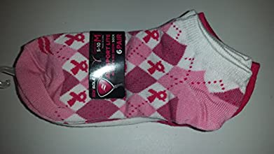 Sof Sole Women39s Socks All Sport Lite No Show Size 5-10 Pink 6pairs