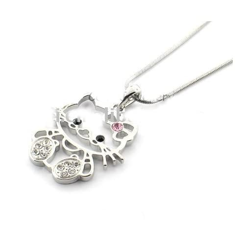Fashion Jewelry ~ Hello Kitty Necklace (Style D7935)