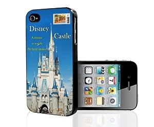 Disney Castle Postcard Inspired iPhone 5 i5 Hard Case