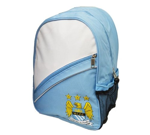 New Official Manchester City FC Mid Tier Backpack