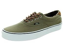 Vans Unisex Era 59 (C&L) Walnut/Geo Weave Skate Shoe 9 Men US / 10.5 Women US