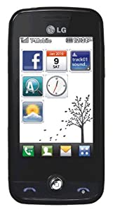 T-Mobile LG Cookie Fresh GS290 Spice Pay As You Go Mobile
