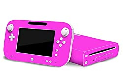 Nintendo Wii U Skin New Party Pink System Skins Faceplate Decal Mod