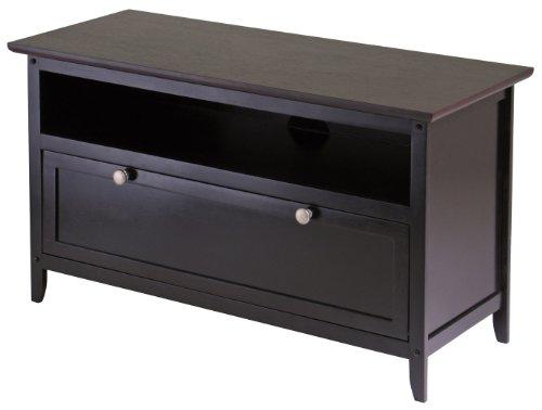 Image of Winsome Wood 92136 36in. Zuri TV Stand, Dark Espresso (B001MS2G06)