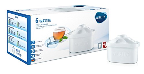 Brita Water Filter Cartridges Maxtra, Pack of 6