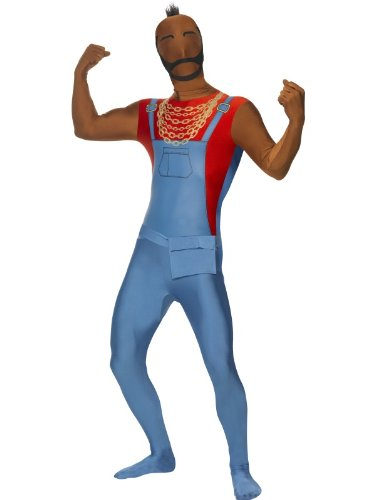 Mr T Second Skin Suit Costume. Officially Licensed. Medium or Large.