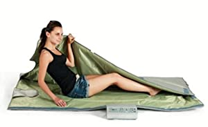 Sauna Blanket Bag FIR FAR Infrared Body Wrap 140 Degree Heat Digital 3 Zone Remote... by Under The Sun Saunas