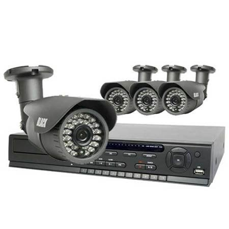 4-Camera 2.1 Megapixel 75 ft IR Day/Night HD-SDI Outdoor Bullet Security System with 1TB HDD (Sony Outdoor Security Camera compare prices)