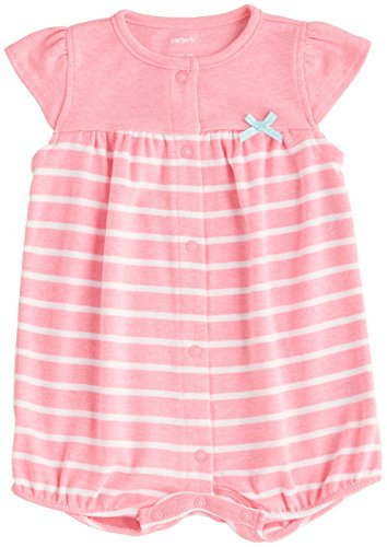 Carter's Baby Girls' 1-piece Snap-Up Romper