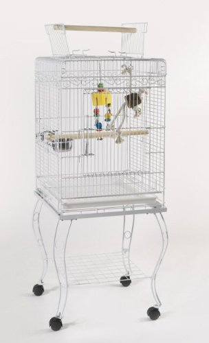 Cheap Zarzis Bird Cage Parrot Complete With Stand (B002A810MM)