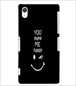 PrintDhaba Quote D-2628 Back Case Cover for SONY XPERIA Z2 (Multi-Coloured)