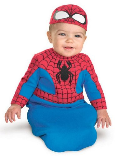 Baby Spiderman Costumes Infant's Spidey Bunting
