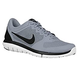Nike Flex 2015 Rn Sz 6.5 Mens Running Shoes Grey New In Box