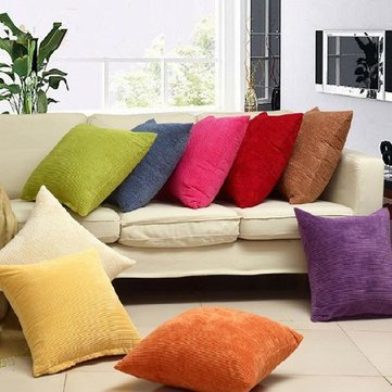 Corn Kernels Corduroy Sofa Decor Pillow Cases Zippered Cushion Cover^Coffee. (Indian Purple Corn compare prices)