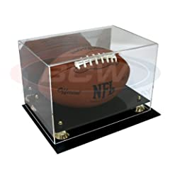 Buy BCW Deluxe Acrylic Football Display With Mirror by BCW