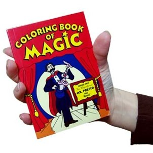 Coloring Book of Magic, Pocket Size