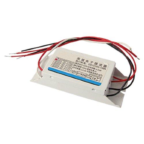 White Rectangular 20W Fluorescent Light Lamp Ballast AC 220V 0.086A