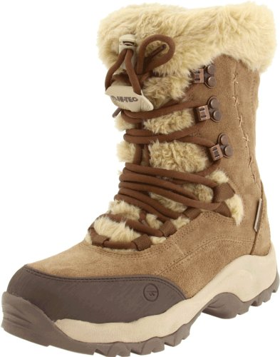Hi-Tec Women's St Moritz 200 Boot,Brown/Cream,9 M